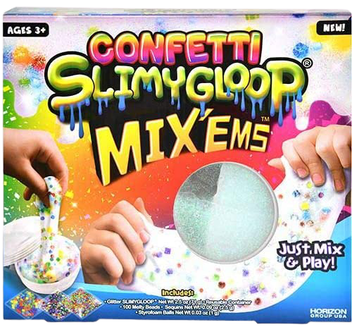 SLIMYGLOOP Confetti Mix'ems