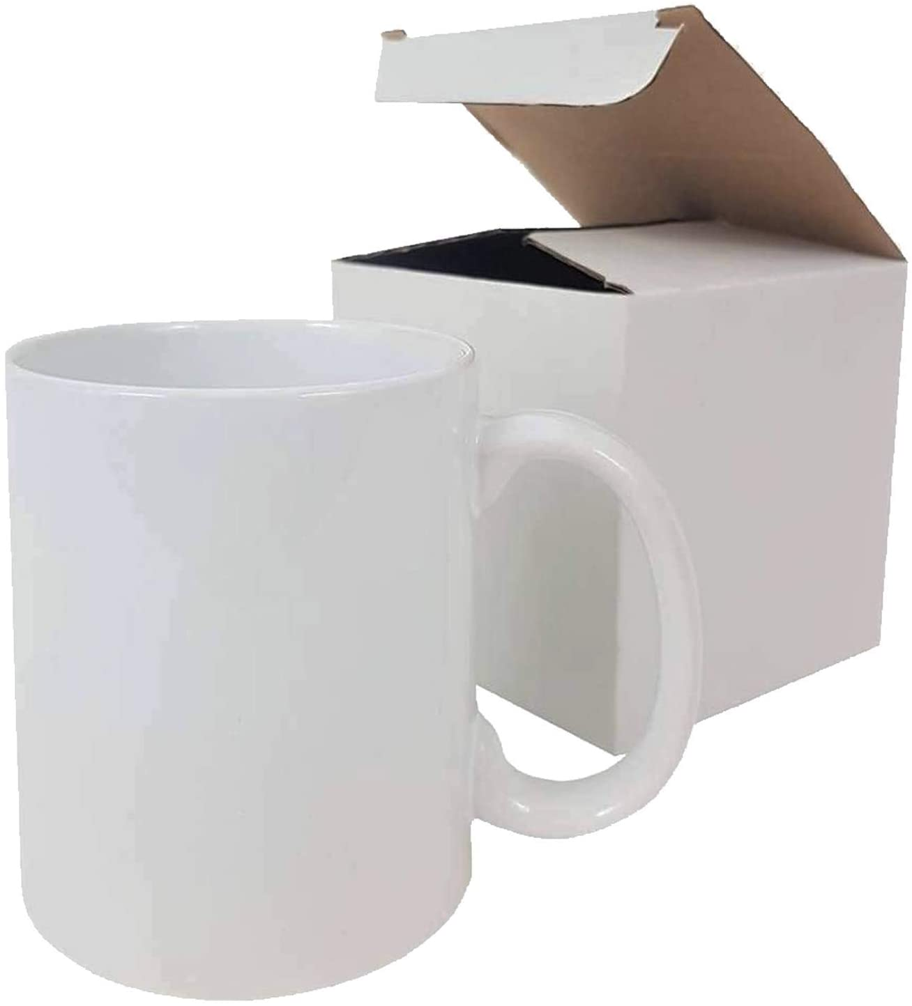 11 oz Sublimation Blank Ceramic Coffee Mugs