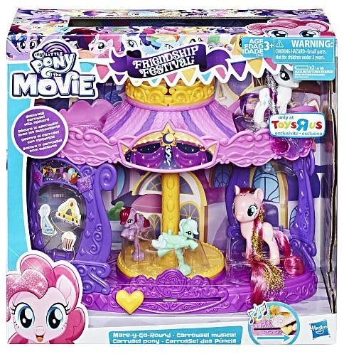 My Little Pony Movie Friendship Festival Mare-Y-Go-Round