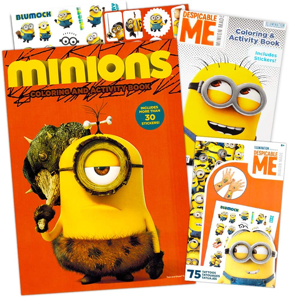 Despicable Me Minions Coloring and Activity Book