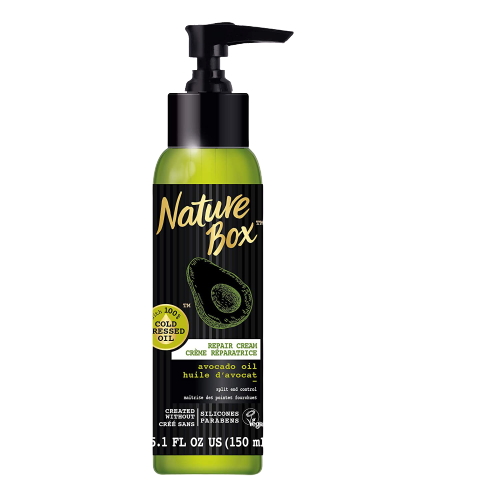Nature Box HairNature Box Hair Repair Cream - for Split End Control, with 100% Cold Pressed Avocado Oil, 5.1 Ounce Repair Cream - for Split End Control, with 100% Cold Pressed Avocado Oil, 5.1 Ounce