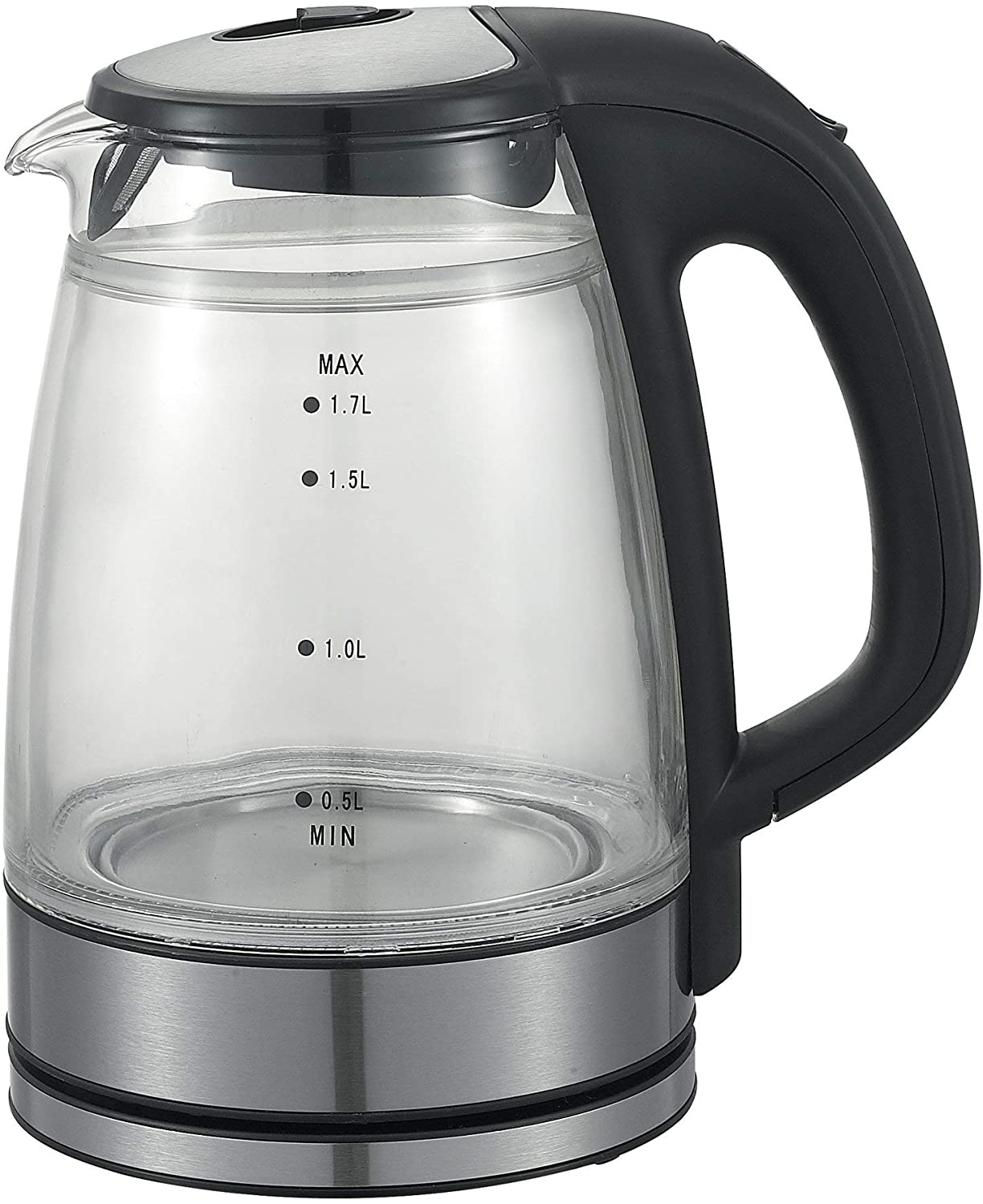 Electric Kettle,Double Wall Glass Kettle (1.7L, GK1501)