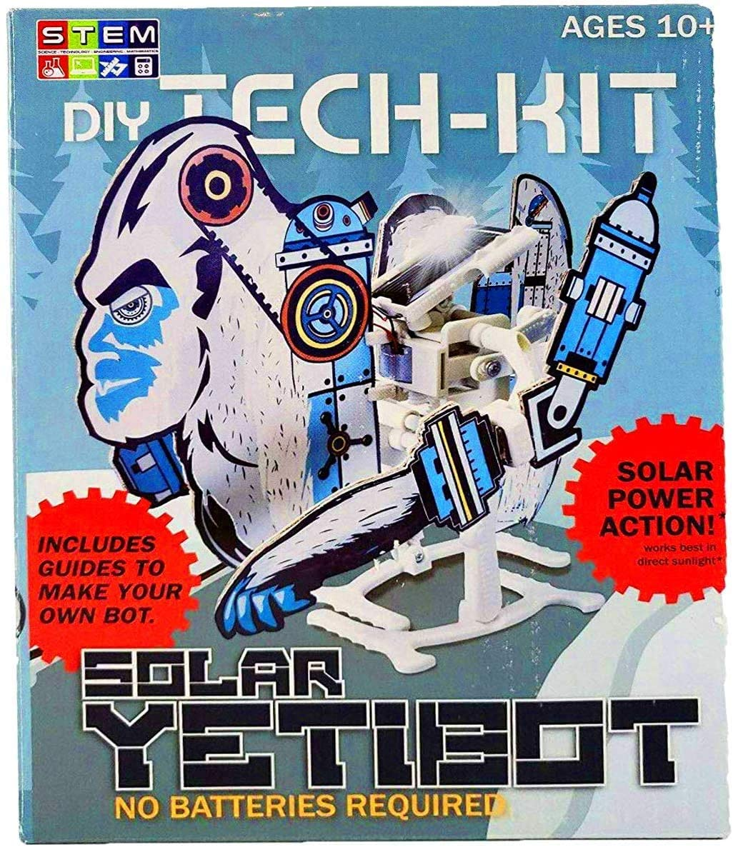 DIY Tech Kit Solar YetiBot