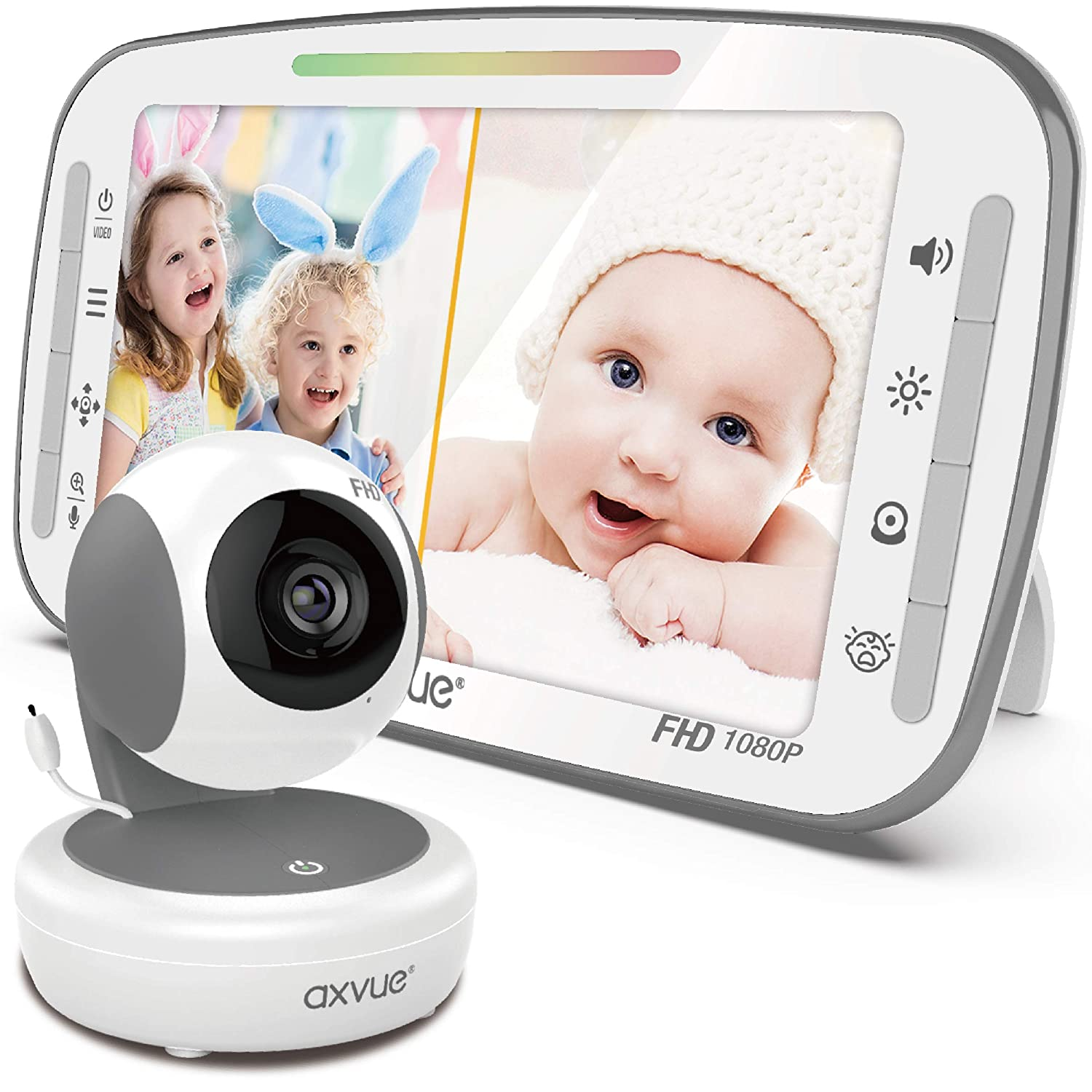 Video Baby Monitor, 1080P 5.5
