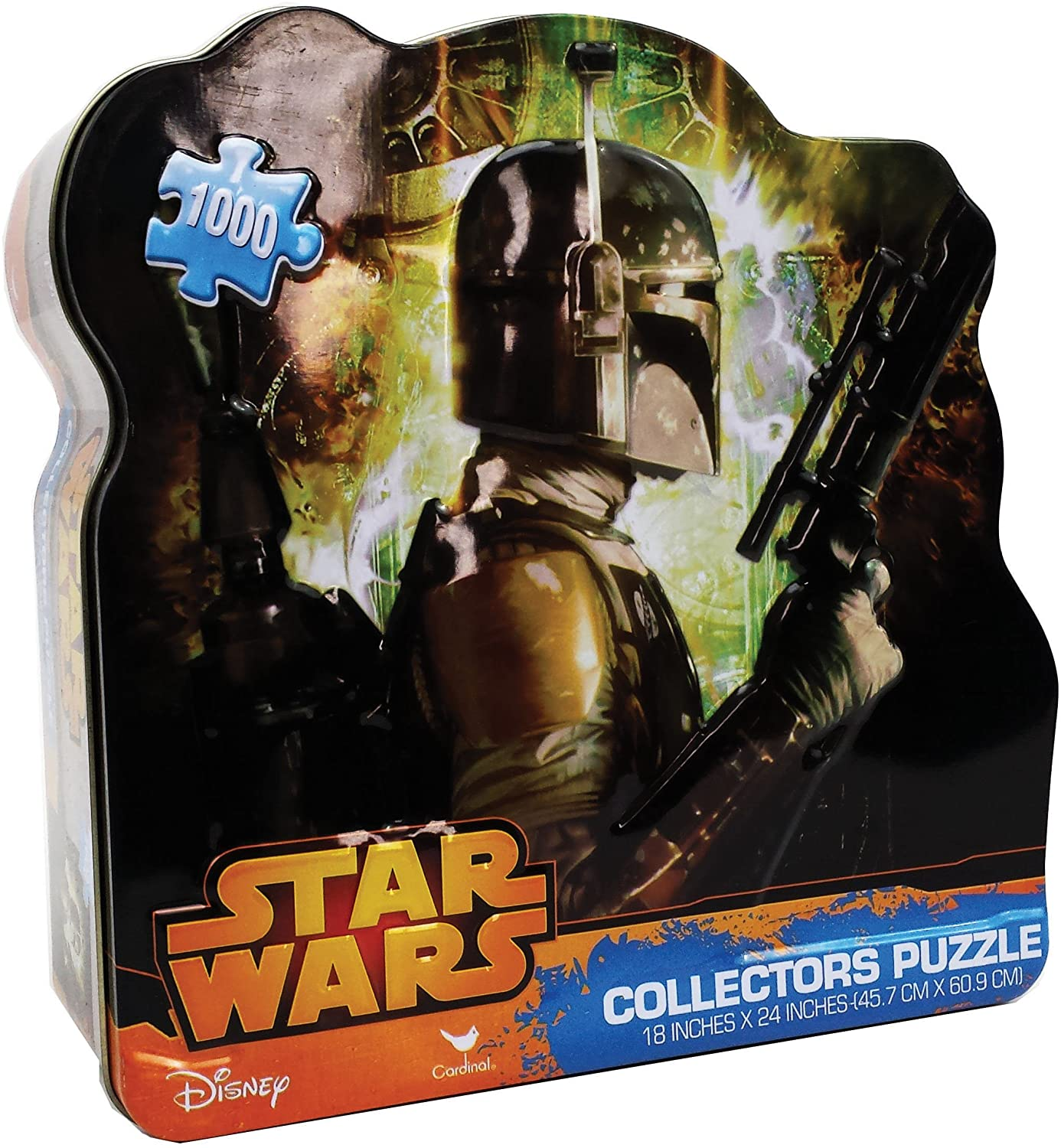 Star Wars Classic-Boba Fett Puzzle (1000 Piece)