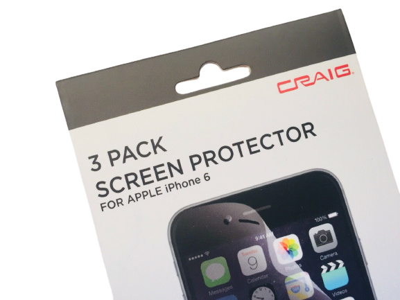 CRAIG Screen Protector 3 Pack For Apple Iphone 6 (CRA6305)