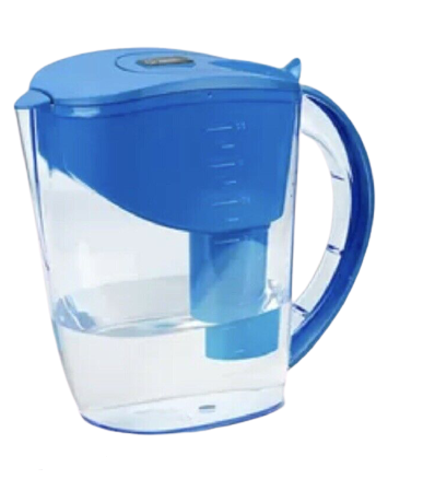 Well Blue ALKALINE Water Pitcher pH PLUS Blue ionized, 3.5 L