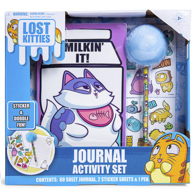 lost kitties journal activity set