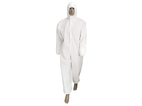 Seniorwear Disposable Isolation Coveralls - XL, Single