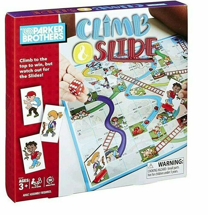 Parker Brothers Climb and Slide [Ages 3+ 2-4players]