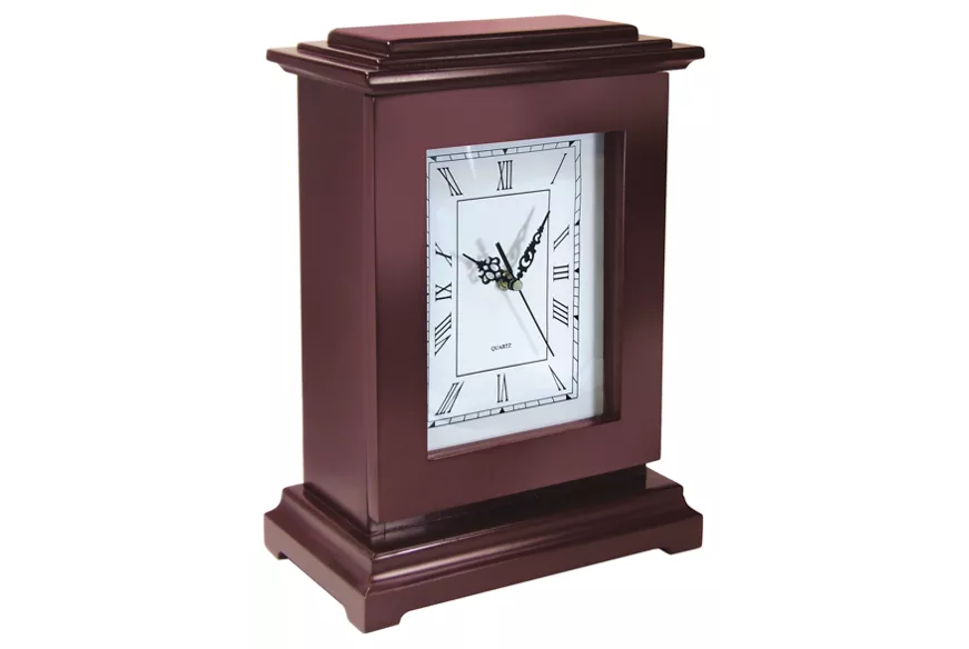 Mantle Clock Safe Concealment Hidden Storage Compartmen