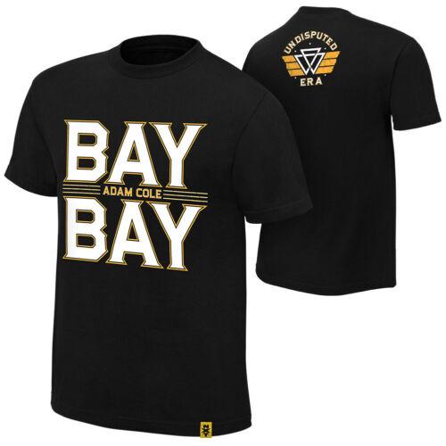 "Adam Cole ""Bay Bay"" Authentic T-Shirt Size XL"