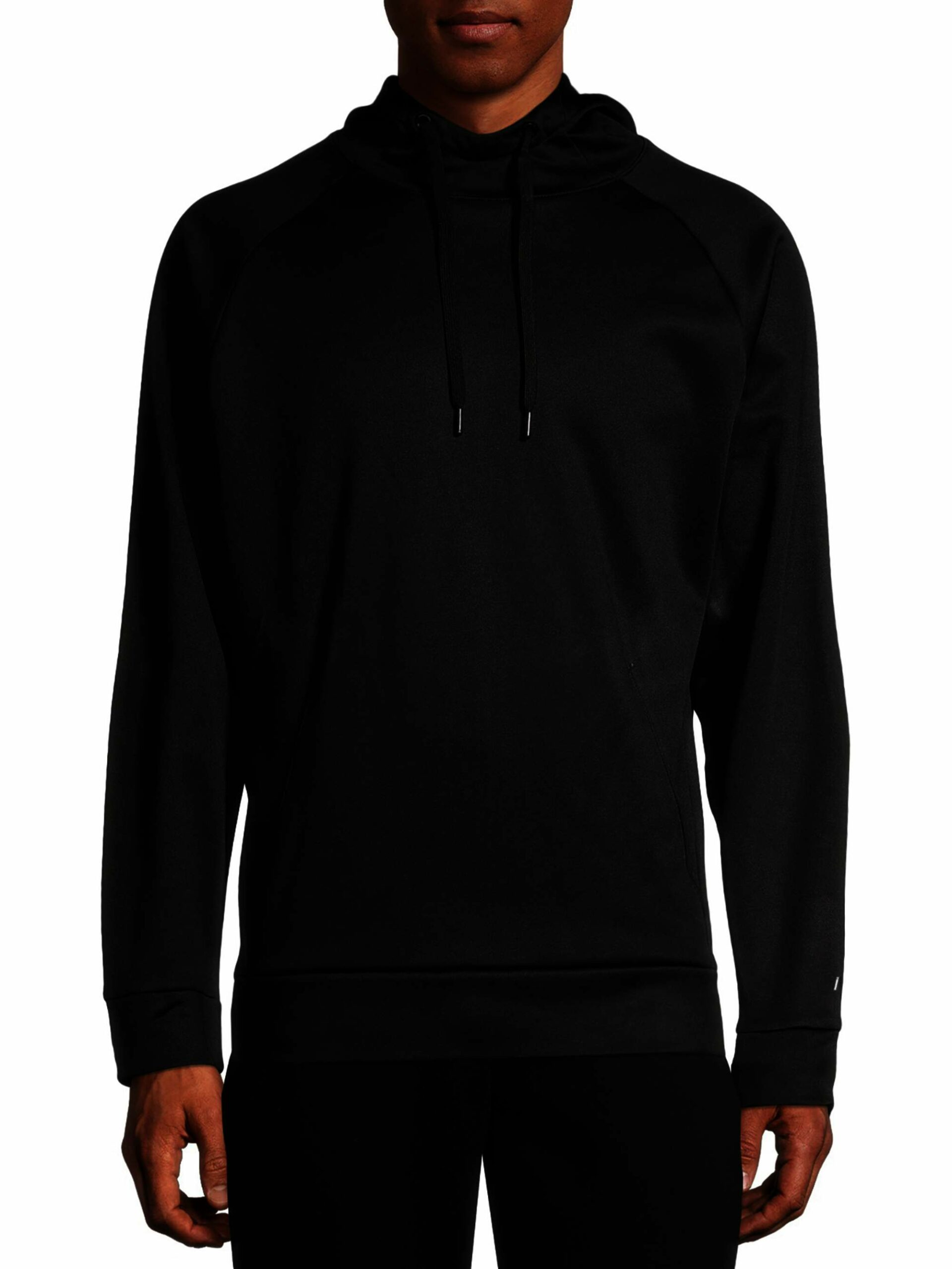 Russell Men's Active Tech Fleece Pullover Hoodie Black Size (M 38-40)