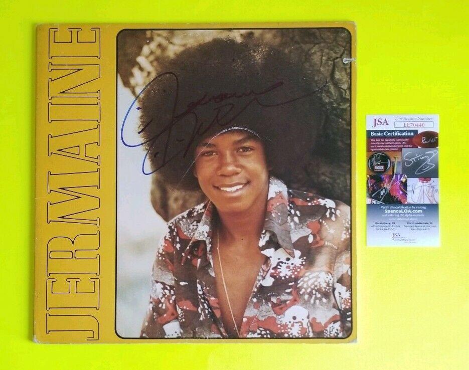 JERMAINE JACKSON SIGNED 1972 SELF TITLED DEBUT ALBUM WITH JSA COA